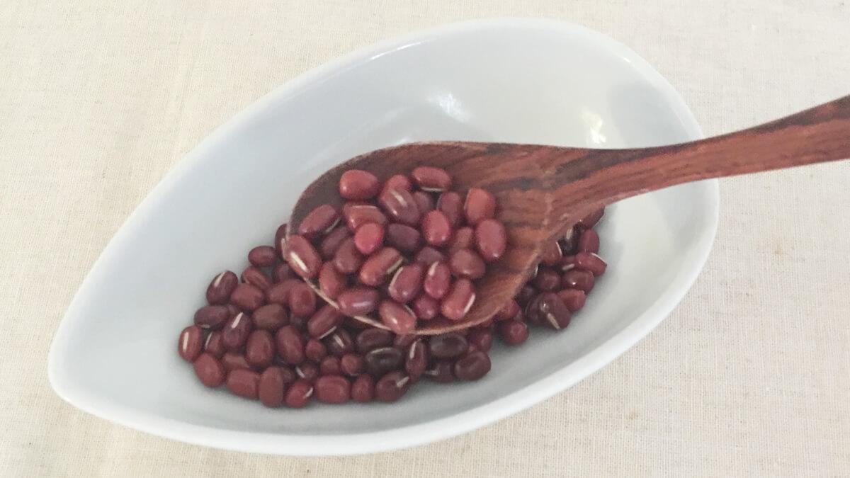 酵素玄米に使う、小豆