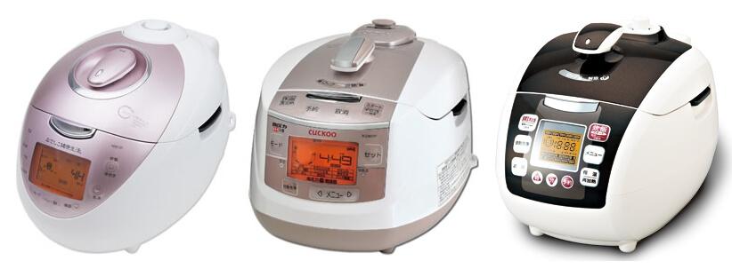 3種類の玄米 発芽玄米 酵素玄米 炊飯器