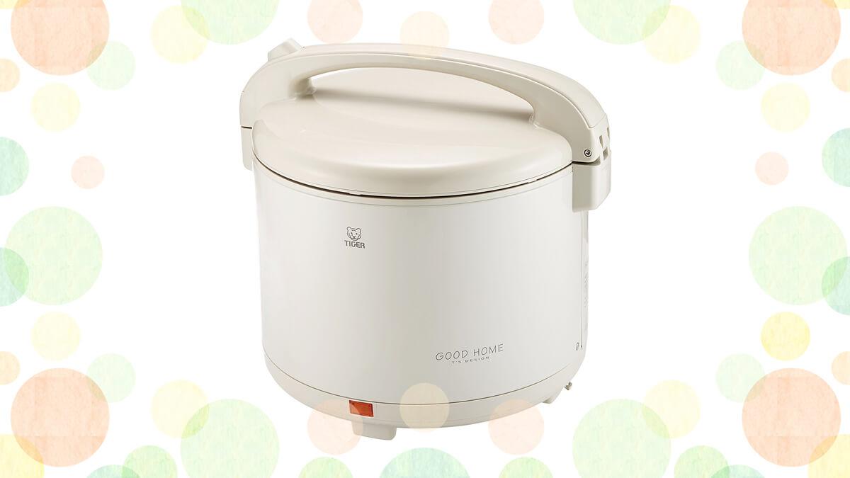 タイガー 電子ジャー 保温専用 保温ジャー 1升 マイルドグレー JHD-1800-HD