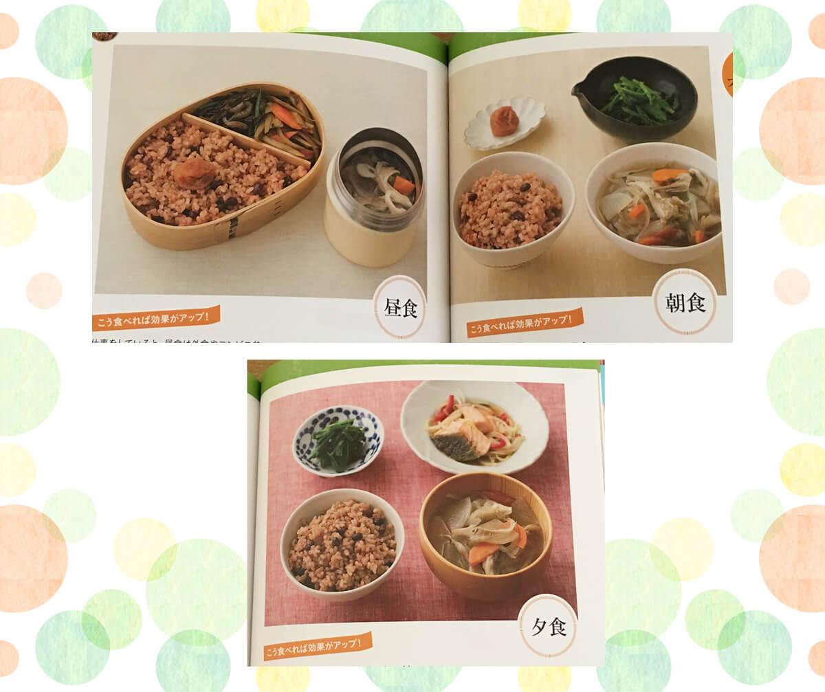酵素玄米ダイエットの献立