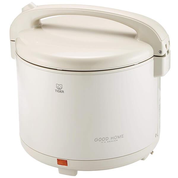 【寝かせ玄米】タイガー 電子ジャー 保温専用 保温ジャー 1升 マイルドグレー JHD-1800-HD(JHG-A180)